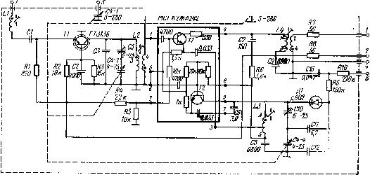 транзисторе ТЗ по схеме с