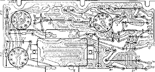 Монтажная схема блока КСДВ-ПЧ