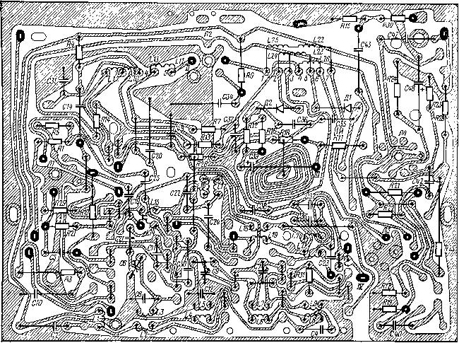 Монтажная схема блока